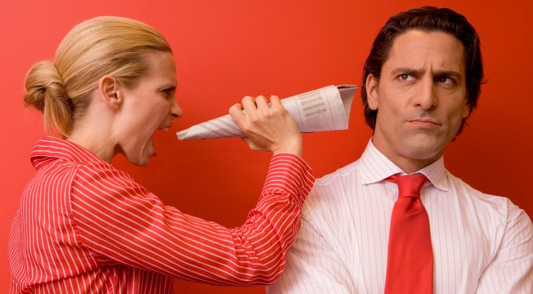 Yelling Coworker