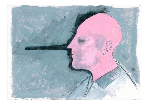 pathological liar traits