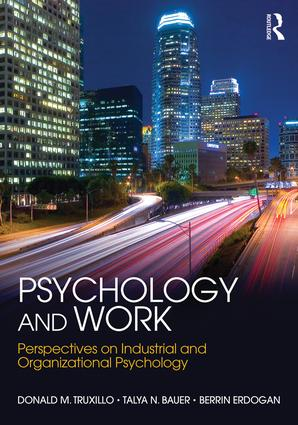 psychology and work textbook cover